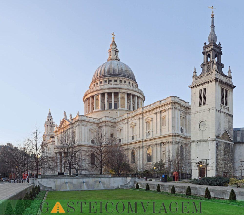 A Catedral de St Paul