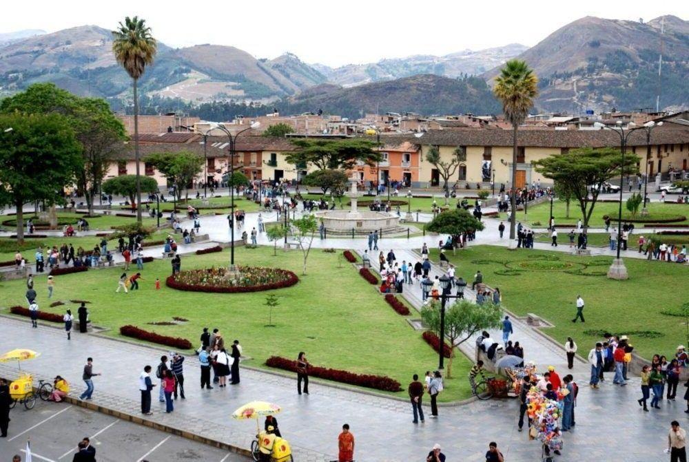 A cidade de Cajamarca