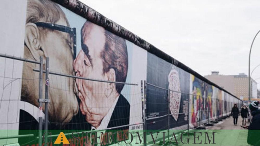 a fazer na estrada Guerra Fria Berlin