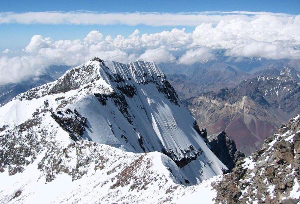 a montanha de Aconcagua