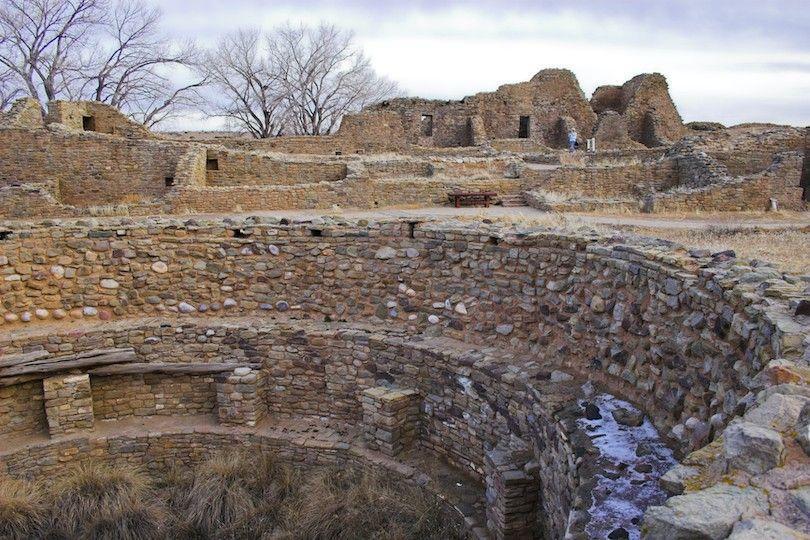 a ruínas astecas nacional np monumento