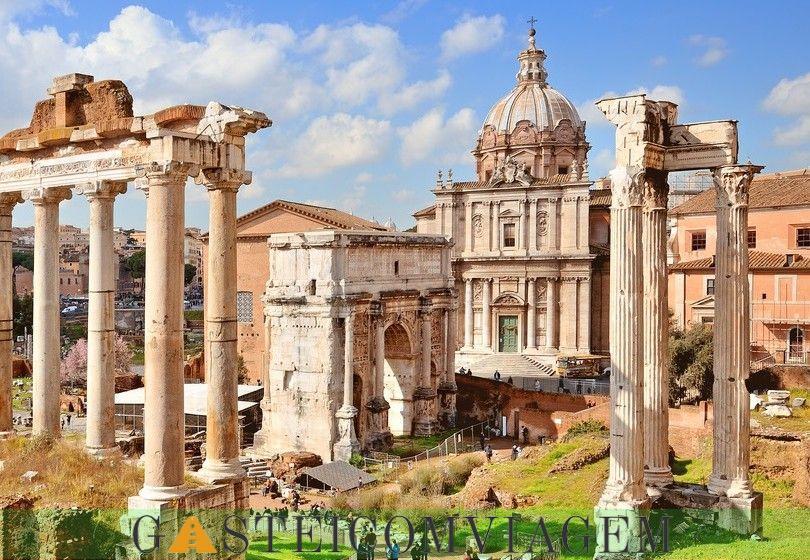 arco grave em roma Septimio