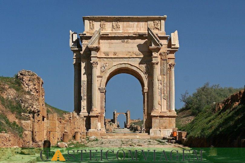 arco Septimio grave