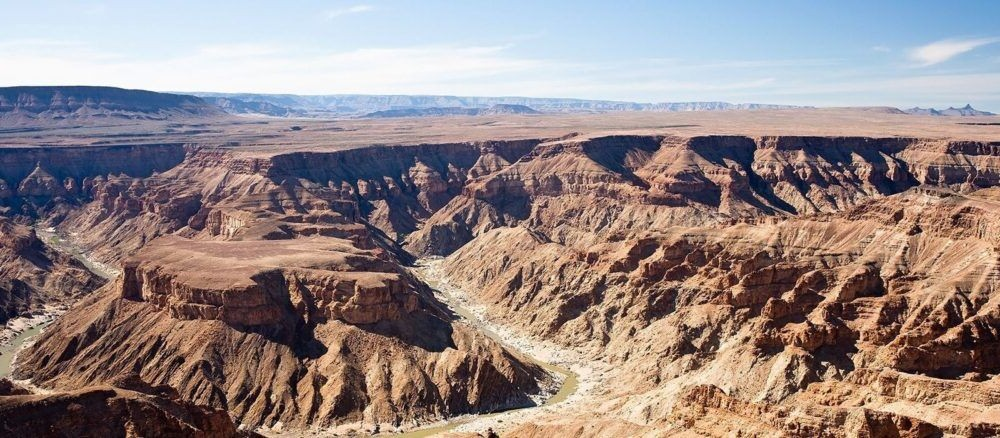atração turística Fish River Canyon
