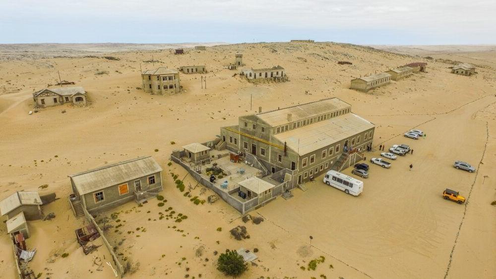 atração turística Kolmanskop