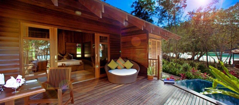 Bunga Raya Island Resort Spa