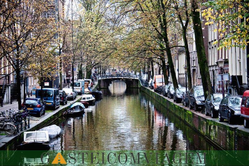 canais de Amesterdão