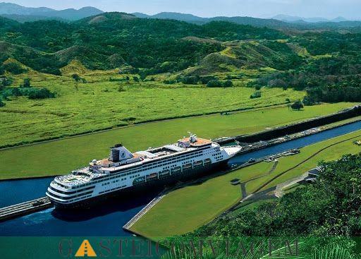 Canal do Panamá Cruzeiro turístico