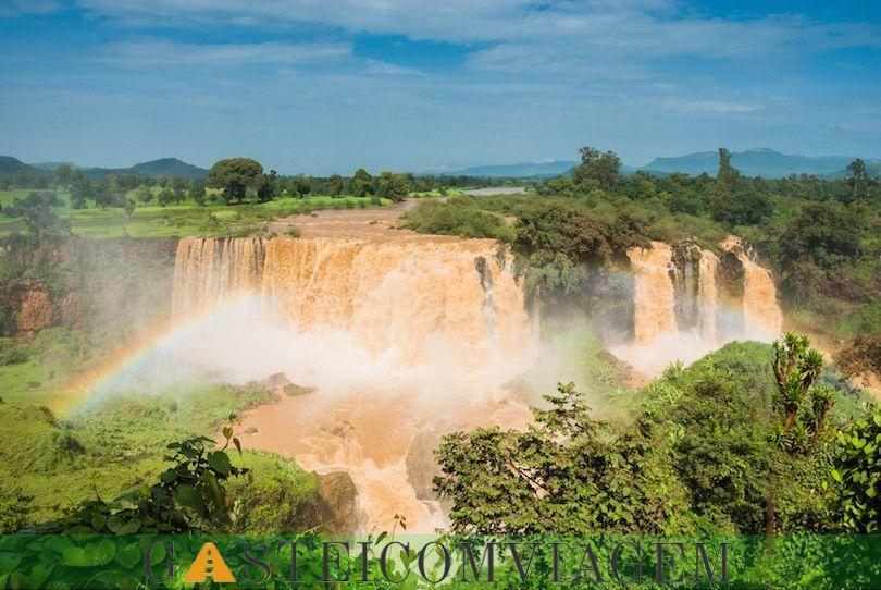 Cataratas do Nilo Azul