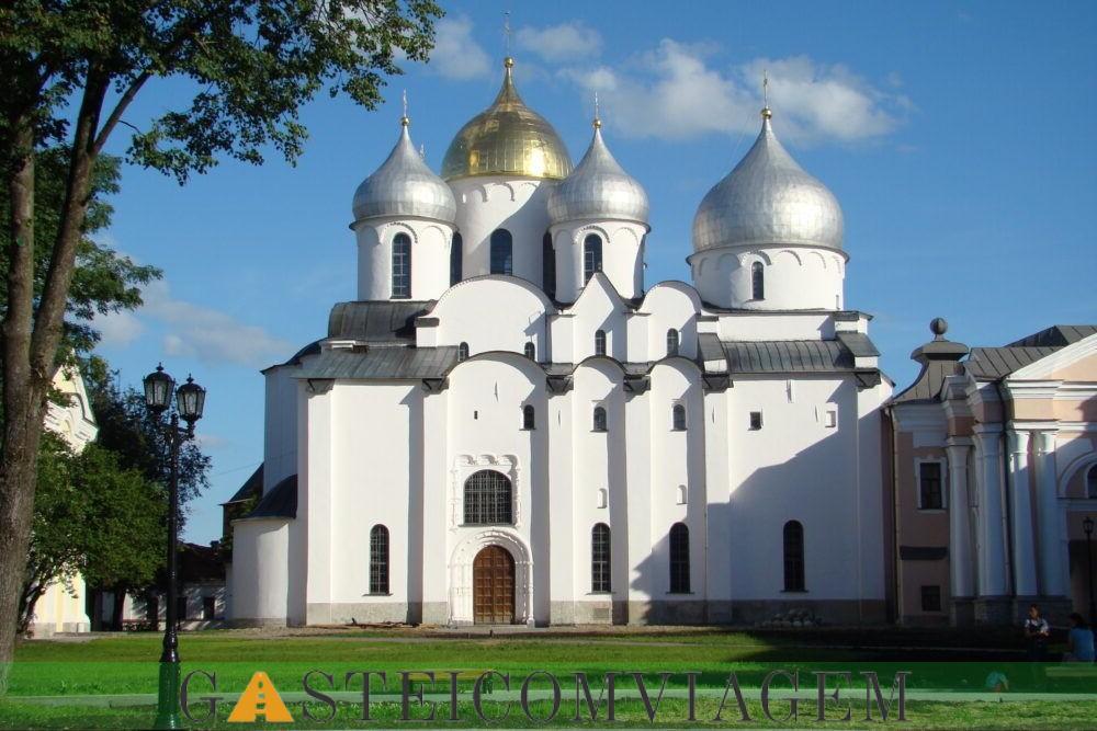 Catedral de Santa Sofia em Novgorod