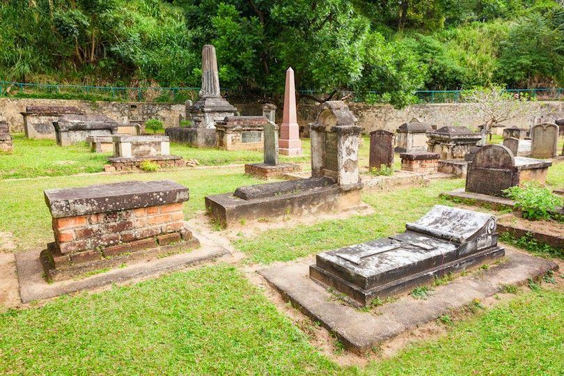 cemitério guarnição britânica