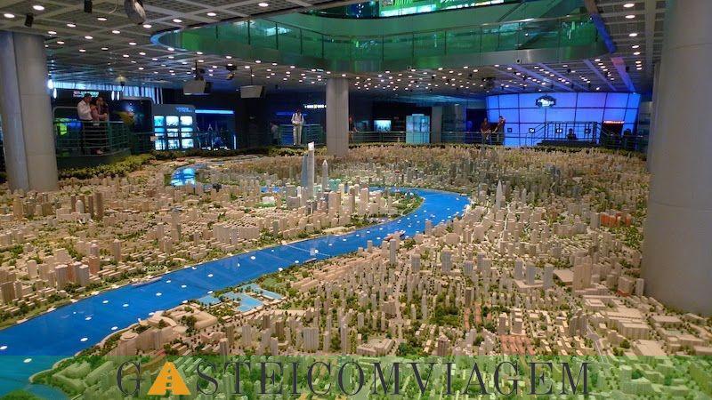 Centroiciones Planejamento Urbano de Xangai