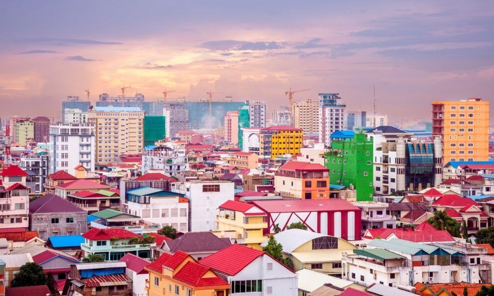 Cidade de Phnom Penh