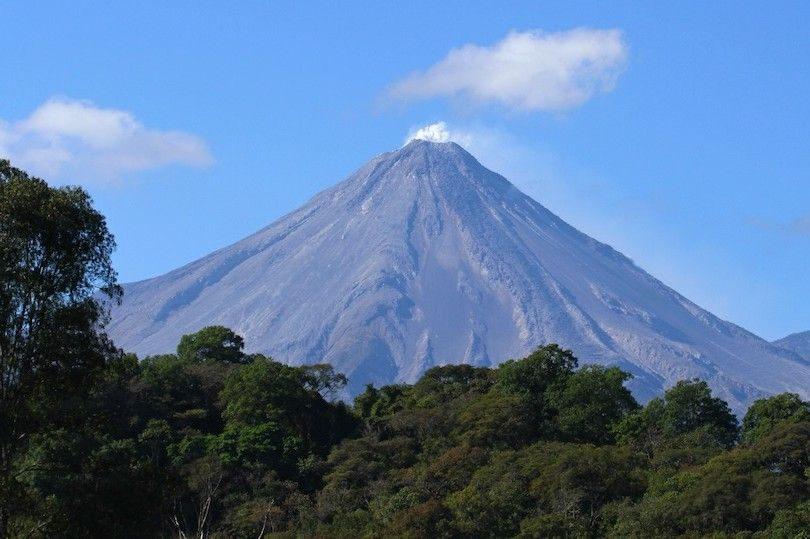 colima vulcão