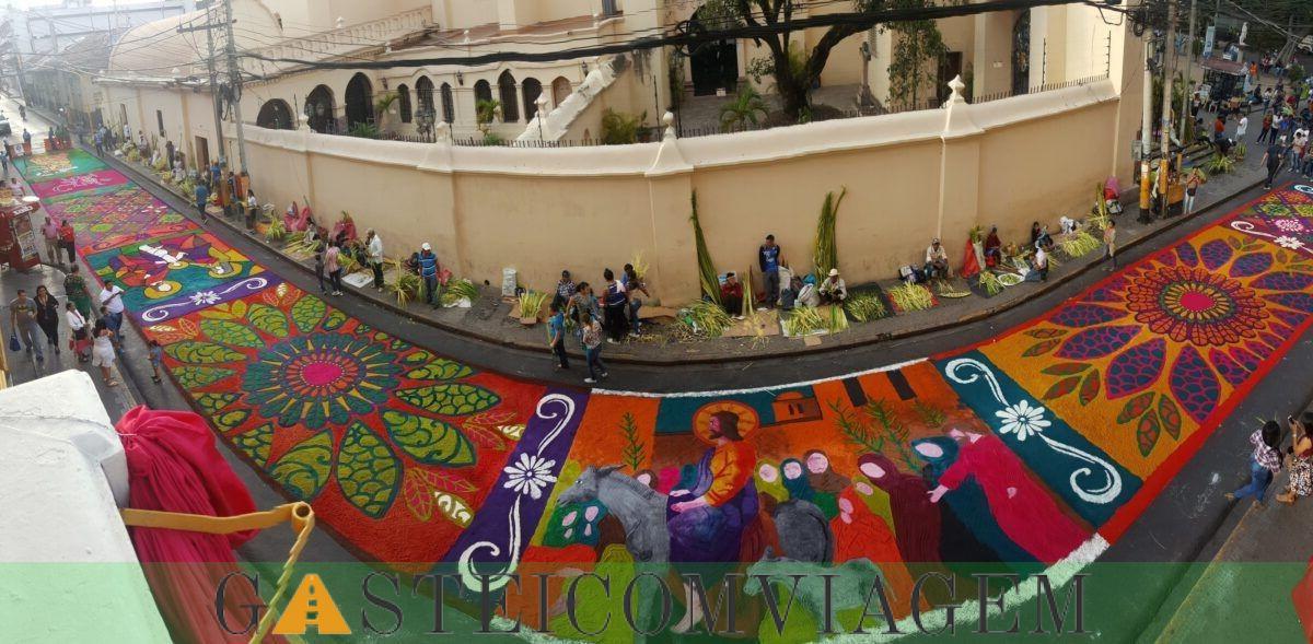 Comayagua rua Tapetes