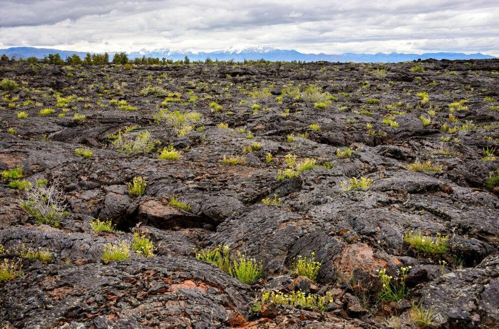 Crateras do monumento nacional de Moon