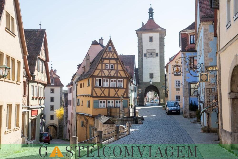der Tauber Rothenburg ob