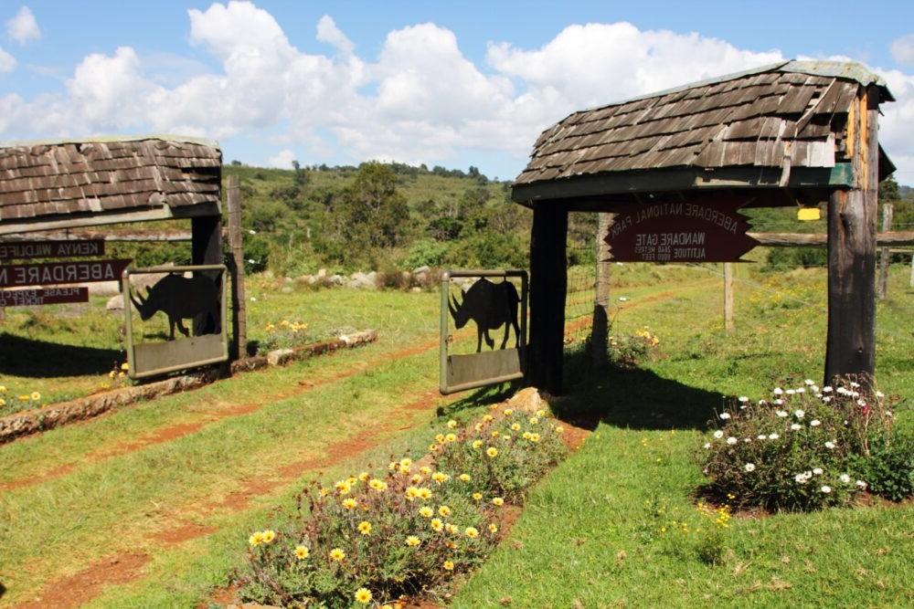 destino Aberdare Parque Nacional do Quênia