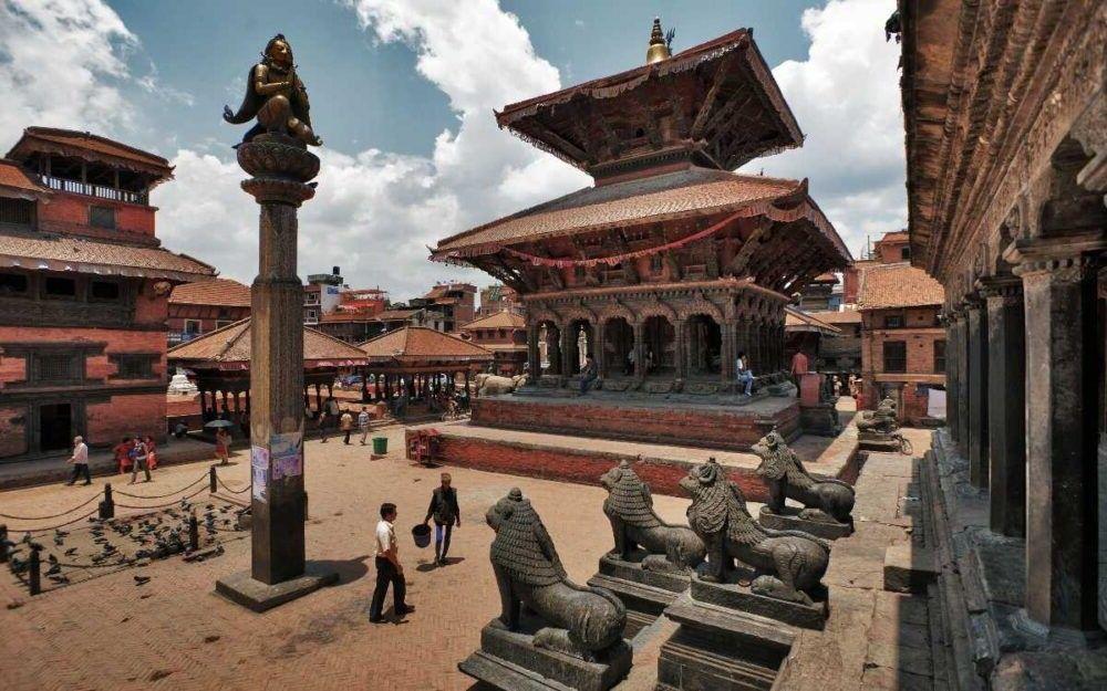 Destino antiga cidade de Patan