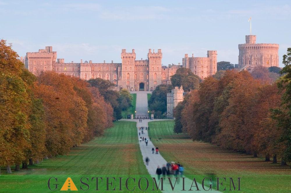 Destino ao Castelo de Windsor