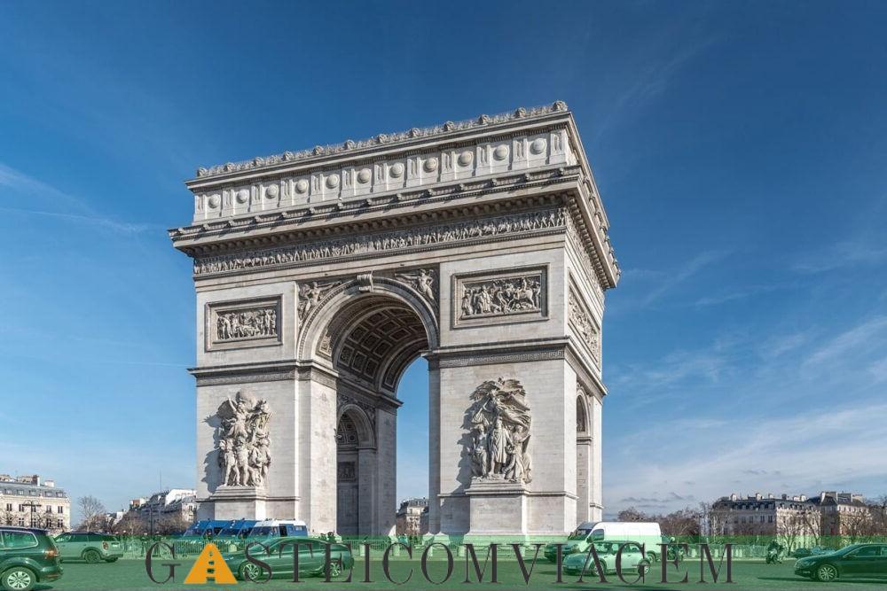 Destino Arco do Triunfo Paris