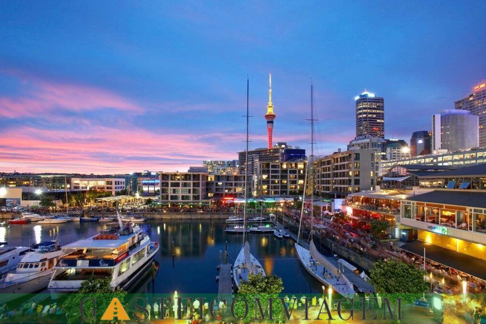 Destino Auckland Nova Zelândia