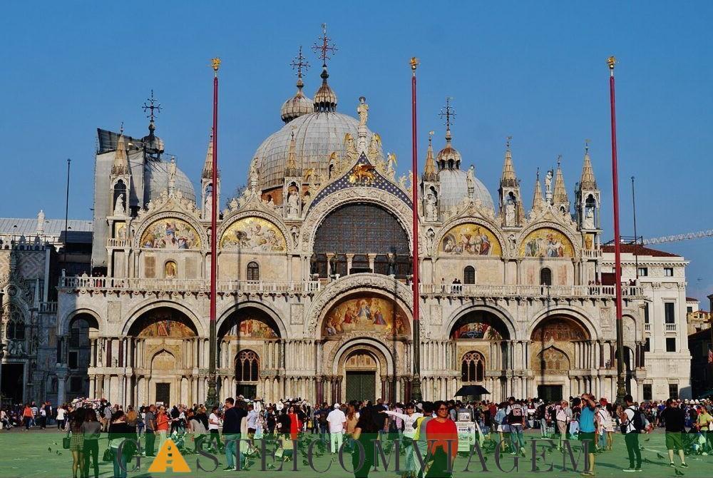 destino Basílica de San Marco em Veneza