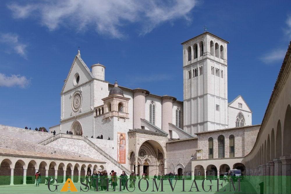 Destino Basílica de São Francisco de Assis