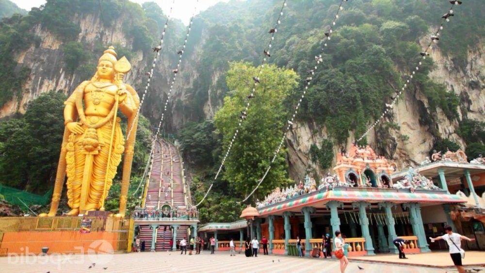 destino Batu Caves da Malásia