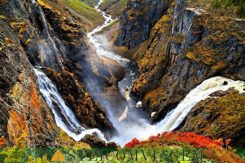 Destino Cachoeiras Noruega