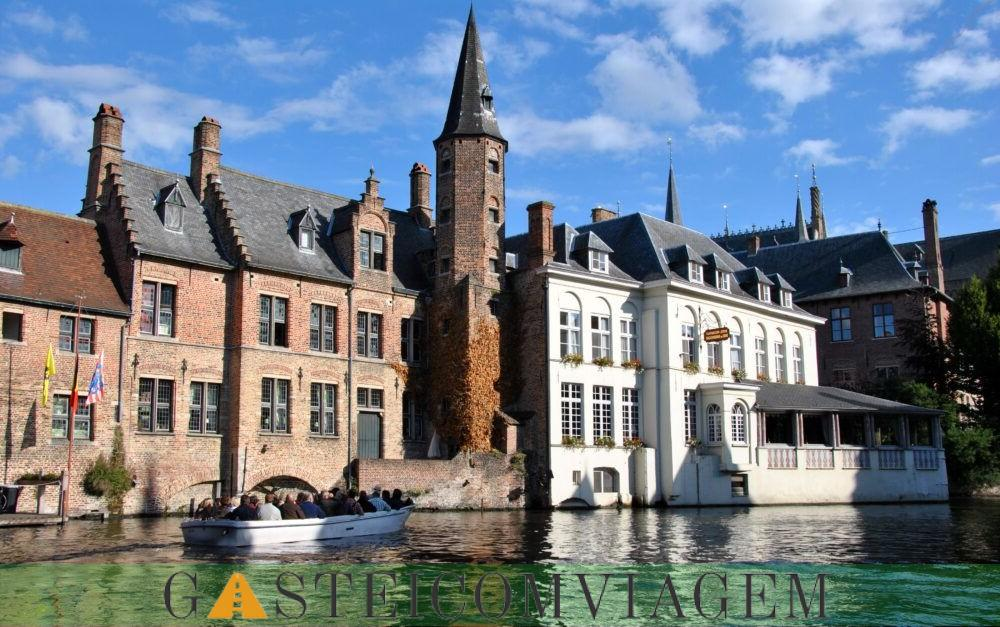 Destino Canais de Bruges Bélgica