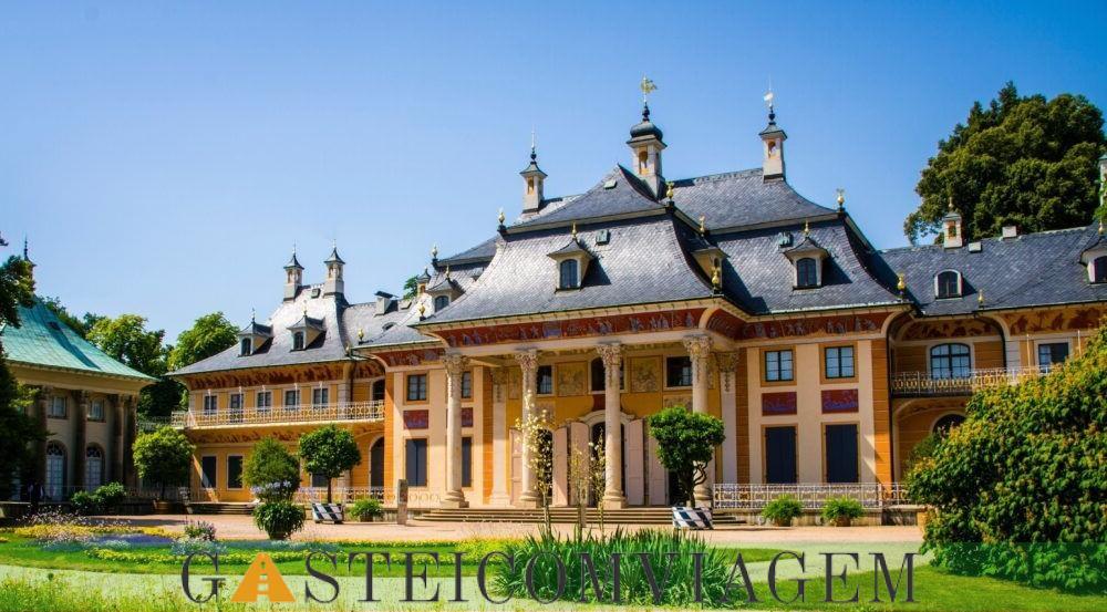Destino castelo Pillnitz