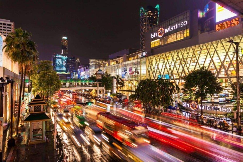 destino CentralWorld Tailândia
