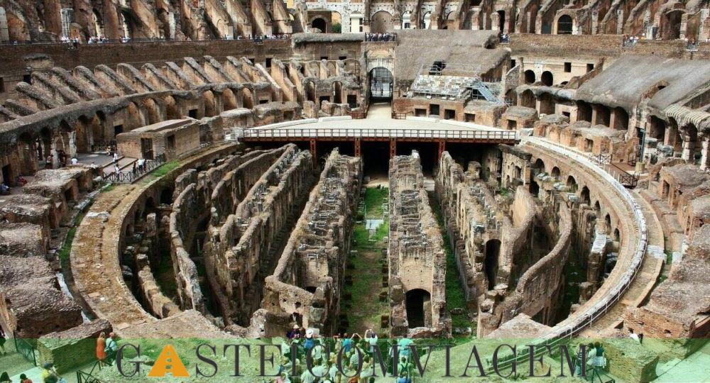 Destino Coliseu de Roma