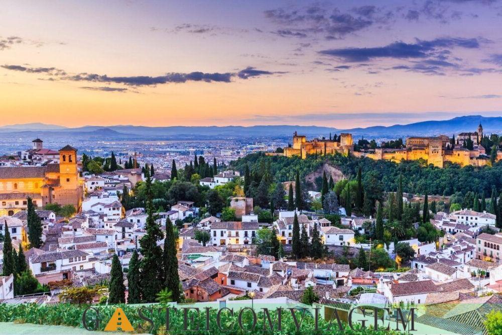 Destino Granada Espanha