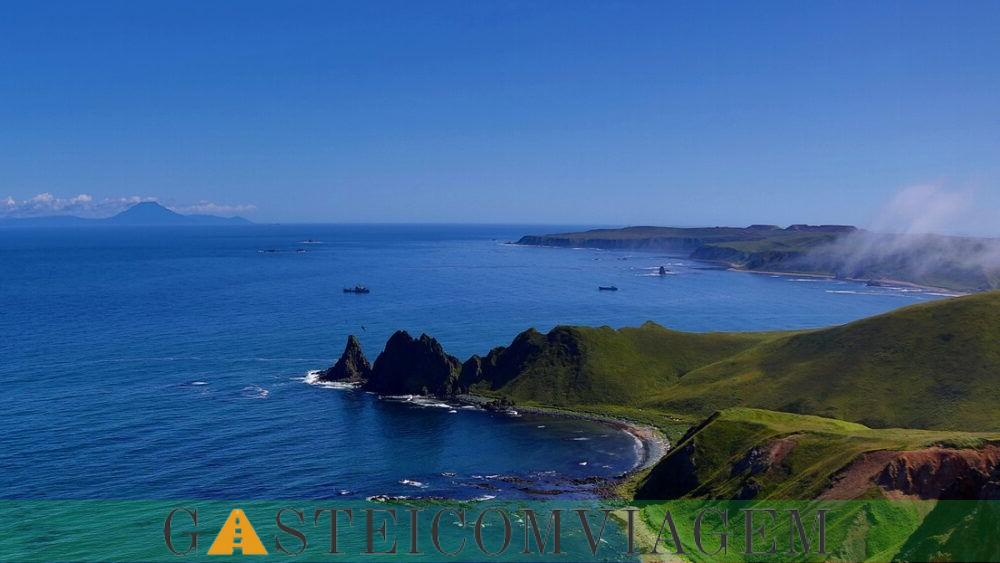Destino Ilhas Curilas