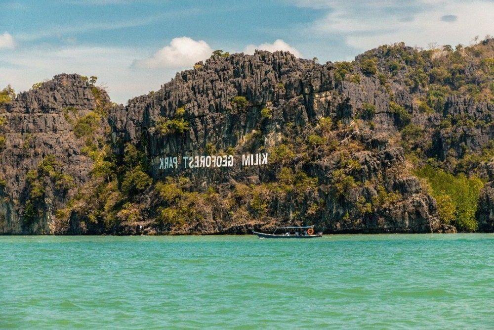 Destino Kilim Geopark Malásia