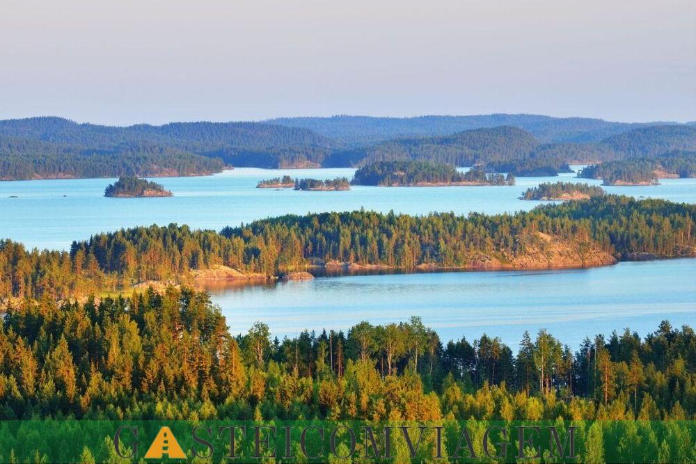 Destino lago Saimaa