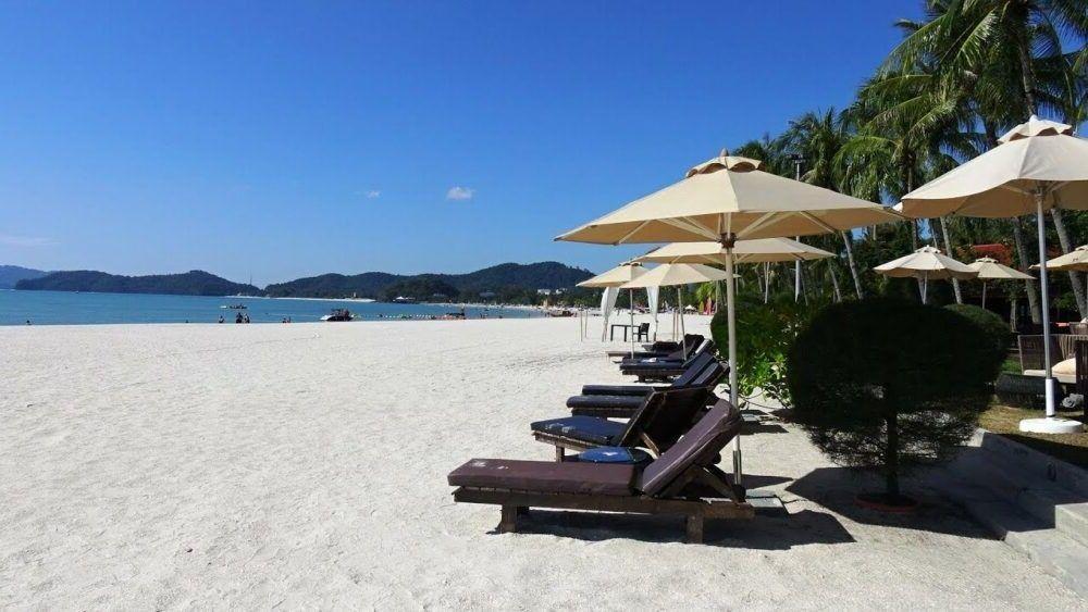 destino Malásia Cenang Praia