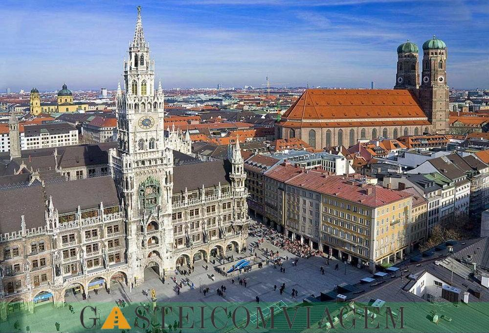 Destino Munich Alemanha