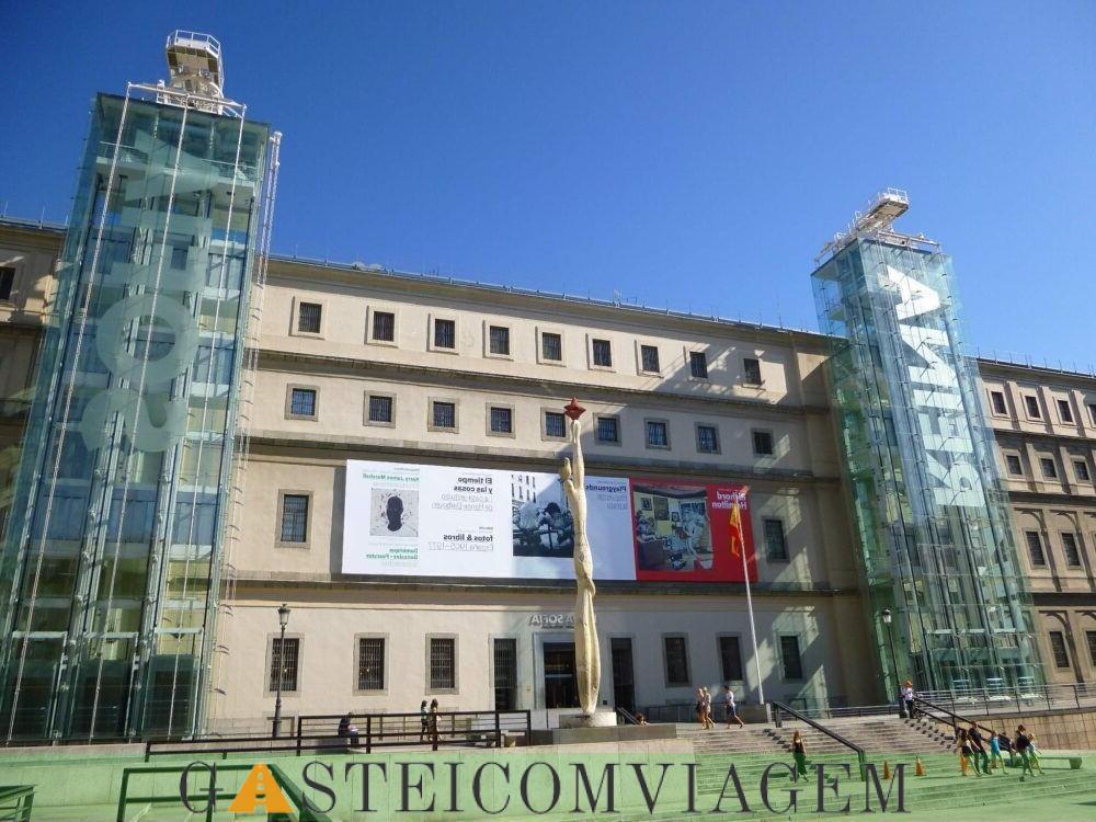 destino Museu Reina Sofia Madrid