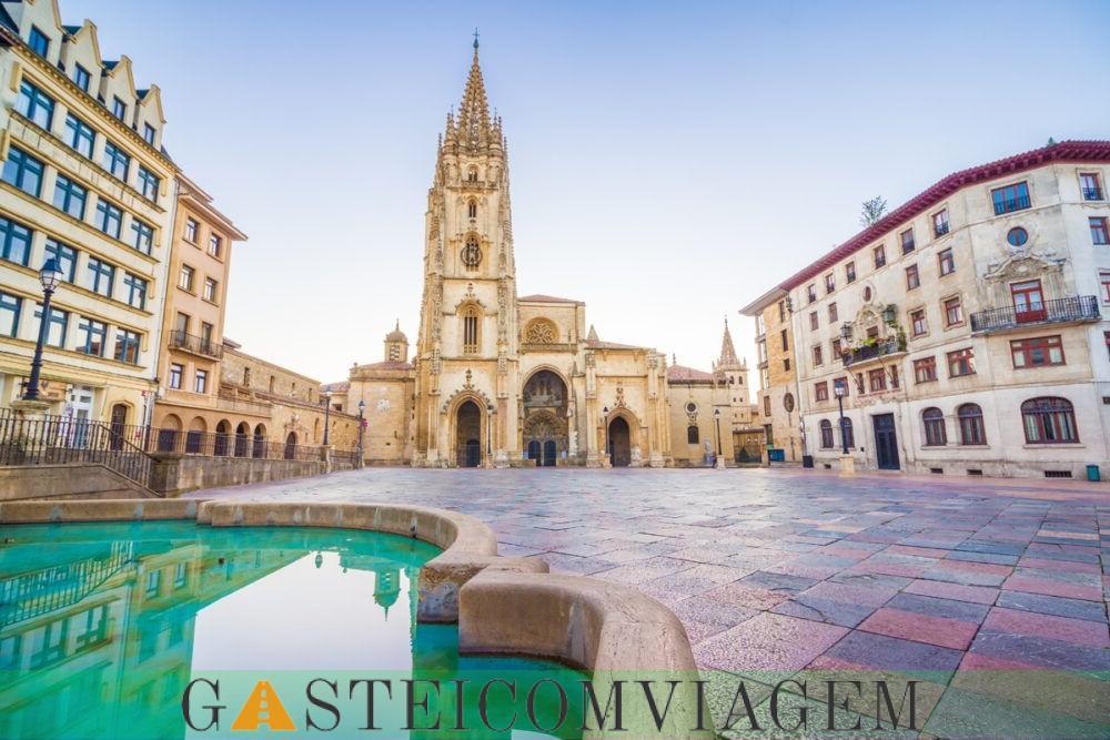 Destino Oviedo Espanha