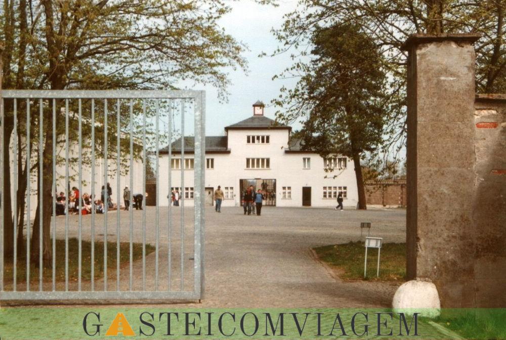 Destino Sachsenhausen campo de concentração
