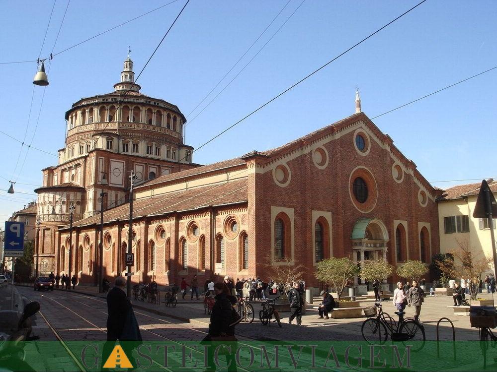 destino Santa Maria delle Grazie em Milão
