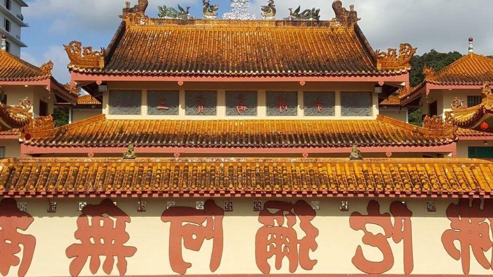 Destino Templo Sam Poh cameron