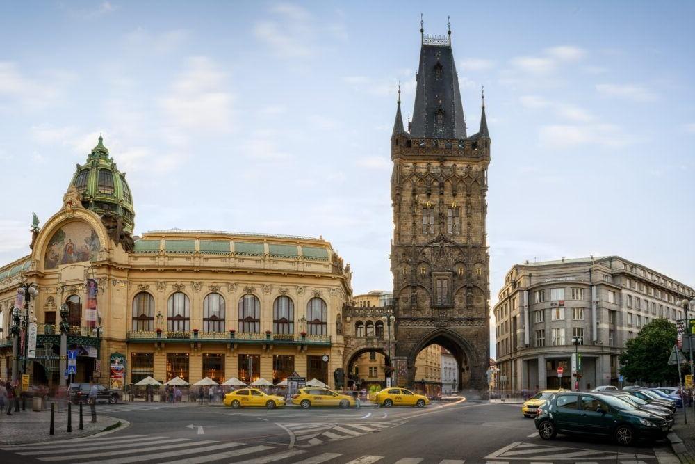 Destino Torre da Pólvora Prague