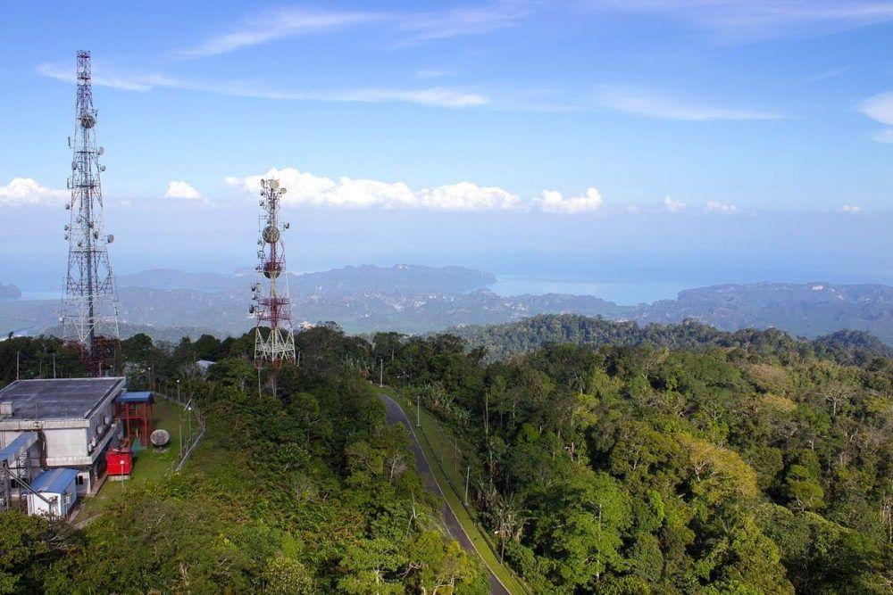 destino turístico Gunung Raya Malásia