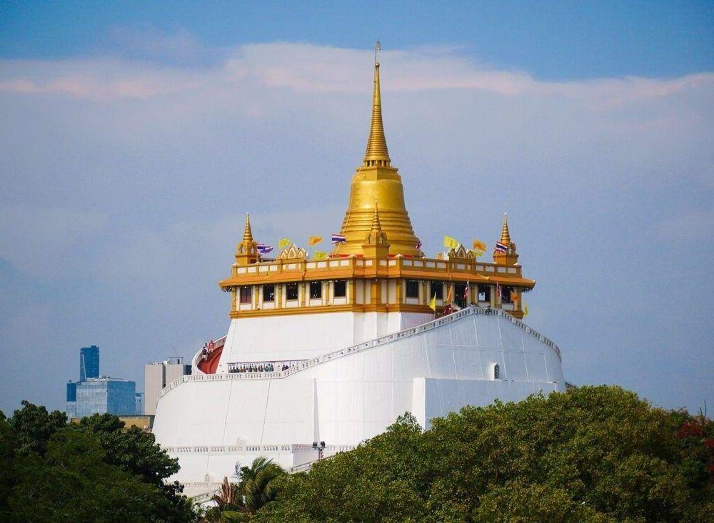 destino Wat Saket Tailândia
