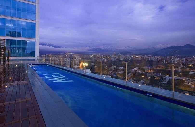 do hotel W Santiago