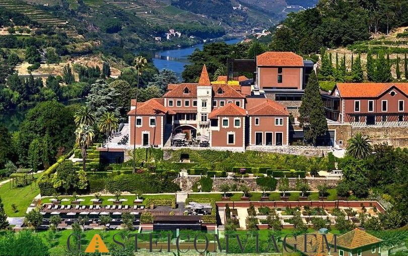 dos seis sentidos Vale Hotel Douro